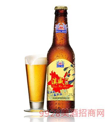 滇威啤酒318ml