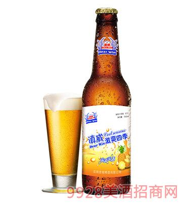 金星滇威果啤318ml啤酒