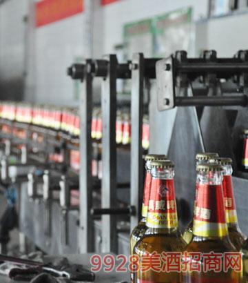 生产流水线啤酒