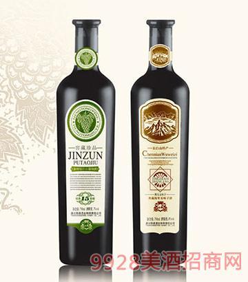 金樽原汁山葡萄酒