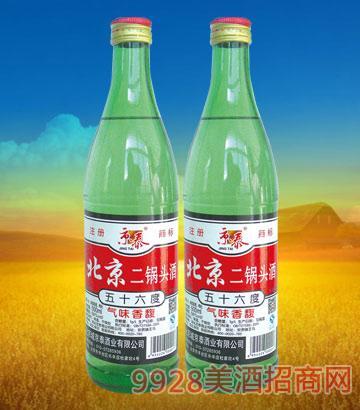 56°北京二锅头(大绿)500mlx12酒