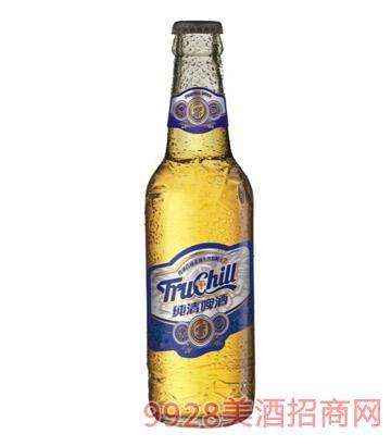 纯清啤酒白瓶327ml