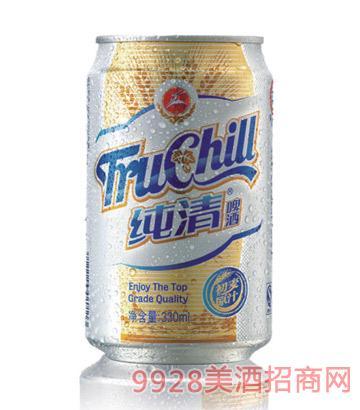 纯清啤酒拉罐330ml
