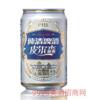 纯清啤酒皮尔森拉罐330ml