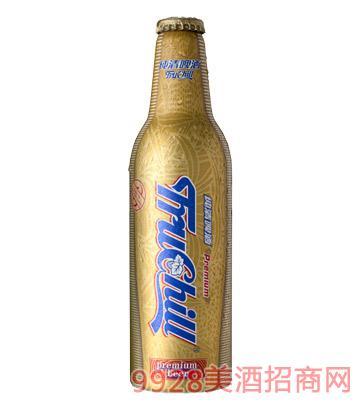 纯清金樽啤酒铝瓶355ml