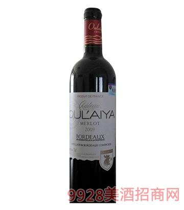 欧莱雅庄园2009美乐葡萄酒