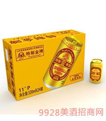 特制金啤啤酒11°P320ml