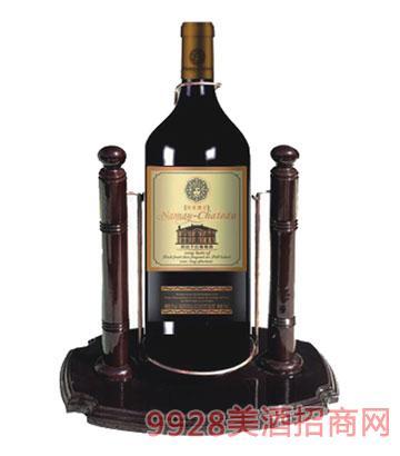 BZ004-5L红木架葡萄酒包装