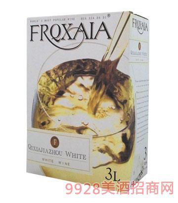 FSY008--3L风时亚利乐盒干白葡萄酒