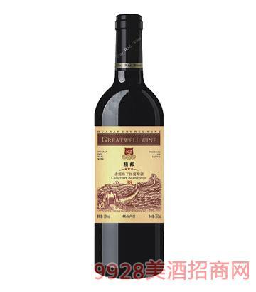 HX005-3星赤霞珠干�t葡萄酒