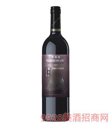 HX001-3星特�x干�t葡萄酒