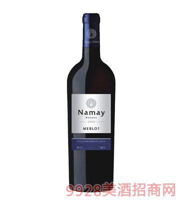 NM006-纳美2005美乐干红葡萄酒