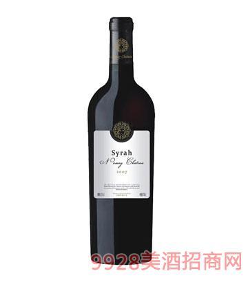 NM002-纳美2007西拉干红葡萄酒