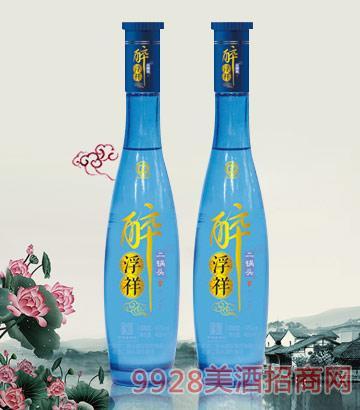 醉浮祥二锅头酒(蓝)42度480ml清香型