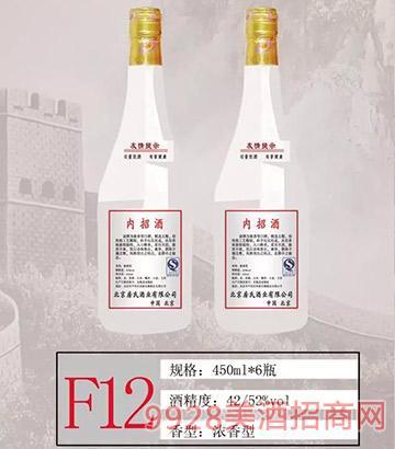 F12房氏酒�I酒 450ml