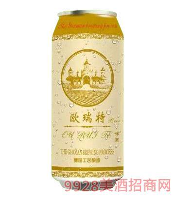 欧瑞特啤酒罐装(黄)