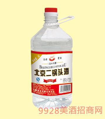 45北京二鍋頭50度56度5L4.5L4L3.5Lx4酒