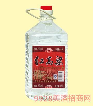 42红高粱酒56度4.5Lx4