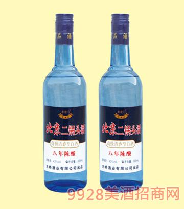 06北京二锅头八年陈酿43度750mlx12酒