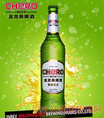 金龙泉精制纯生啤酒
