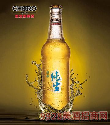 金龙泉金品纯生啤酒