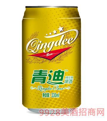 青迪啤酒330ml