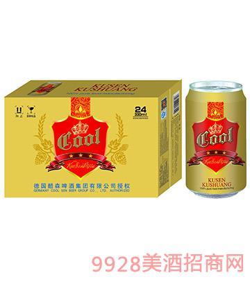 酷爽啤酒330mlx24