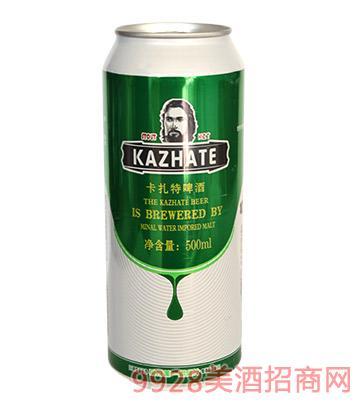 卡扎特啤酒500ml
