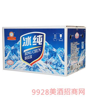 嘉铜冰纯啤酒330mlx24