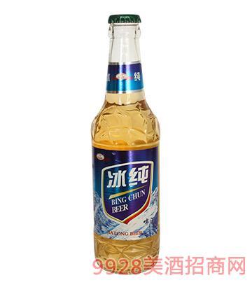 嘉铜冰纯啤酒330ml