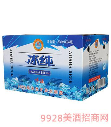 �W莎冰�啤酒330mlx24
