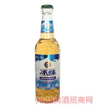 奥莎冰纯啤酒330ml