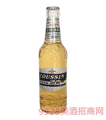 库森清爽啤酒330ml
