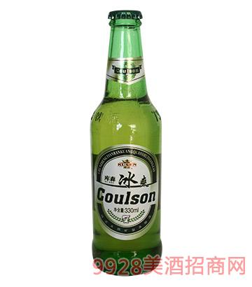 库森冰爽啤酒330ml