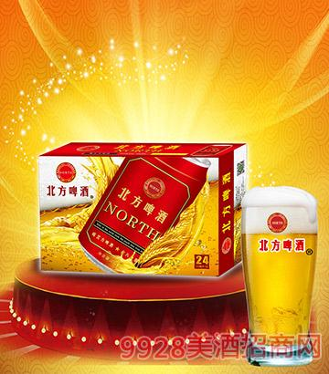 330ml北方啤酒红装箱子