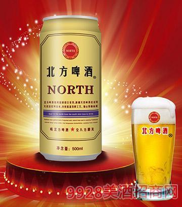 500ml北方啤酒