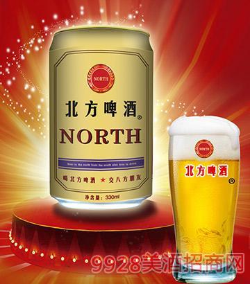 330ml北方啤酒