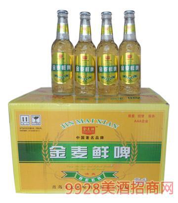330ml金麦鲜清爽10°P箱装啤酒