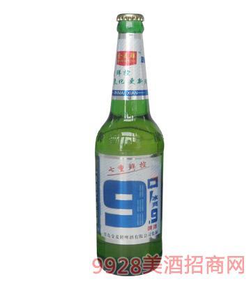 600ml金麦鲜冰爽9.9°P-1X9塑包啤酒