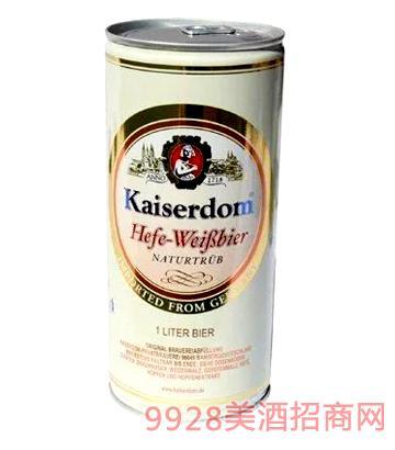 凯撒白啤啤酒