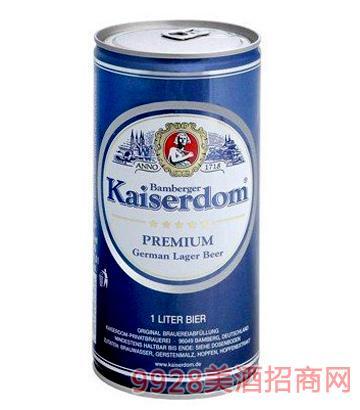 凯撒黄啤啤酒