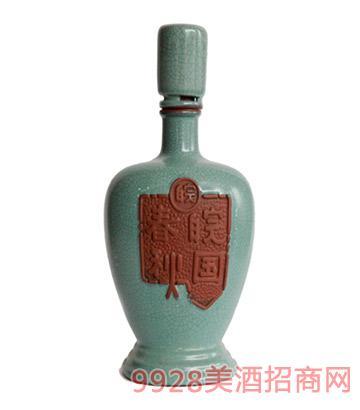 """""""珍藏""""版皖国春秋酒"""