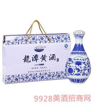 豫新龙潭黄酒青花瓷优质陈酿