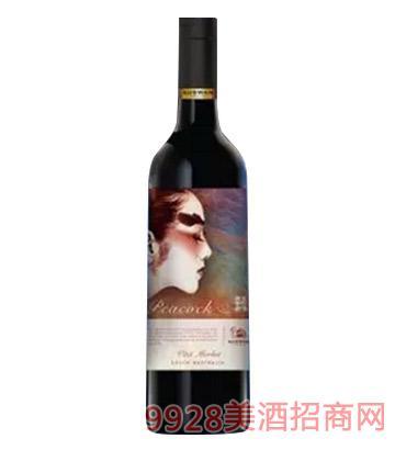 天鹅庄孔雀V系列葡萄酒