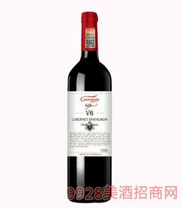 克里斯奔富河谷V6干红葡萄酒
