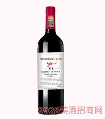 克里斯奔富河谷V8干红葡萄酒