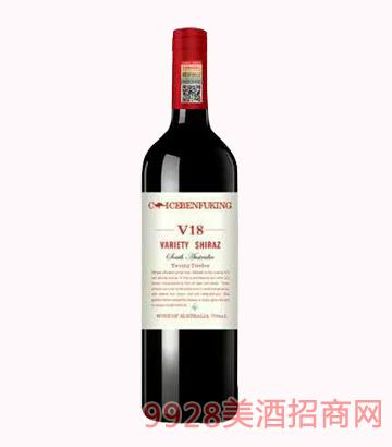 克里斯奔富酒王V18干红葡萄酒