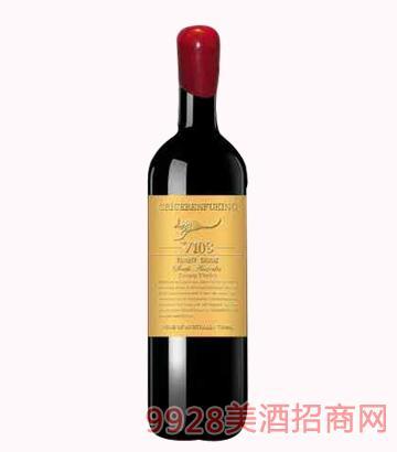 克里斯奔富酒王V108干紅葡萄酒