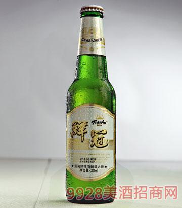 8度天湖鲜冠330ml啤酒