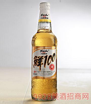 8度天湖鲜100啤酒